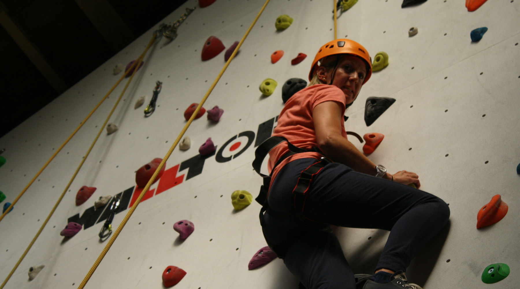 First time climbers